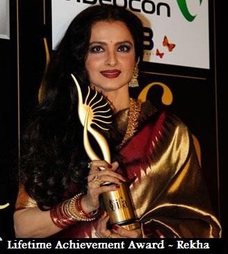 Rekha 2012 Des iifa awards 2012Rekha 2012